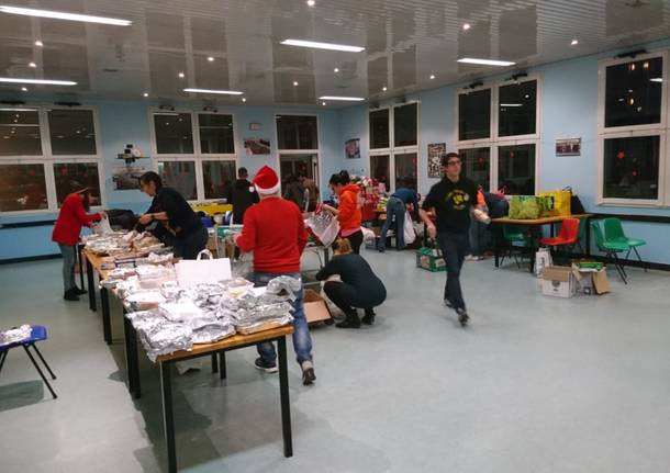 La cena degli avanzi di Natale a Busto