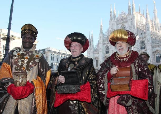 La più antica e bella sfilata dei Re Magi di Milano