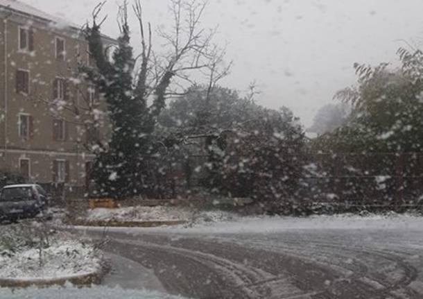 La prima neve di dicembre 2019
