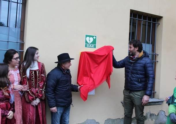 La Pro Loco consegna un defibrillatore all'amministrazione
