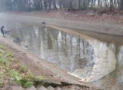 lavori al canale villoresi