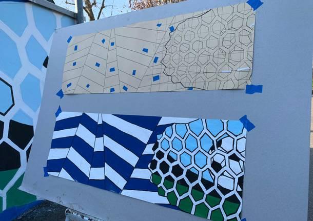 """Il nuovo murales allo """"Speroni"""""""