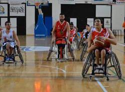 nava handicap sport basket in carrozzina