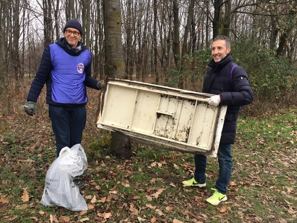 Obiettivo Saronno, domenica di pulizia dei sentieri del Parco Lura Obiettivo Saronno