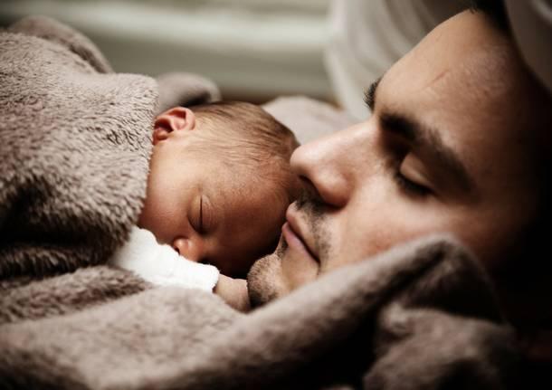 papà neonato