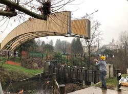 ponte ciclopedonale sul bardello