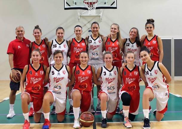 scs pallacanestro varese femminile 95 stagione 2019 2020