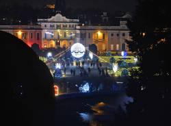 Si accende il Natale ai Giardini Estensi di Varese