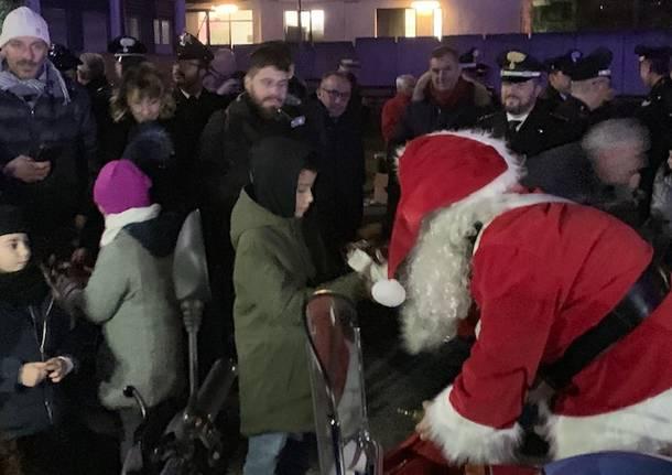 Varese: gli auguri di Natale dei Carabinieri