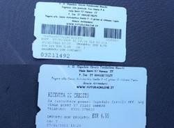 biglietto parcheggio ospedale varese