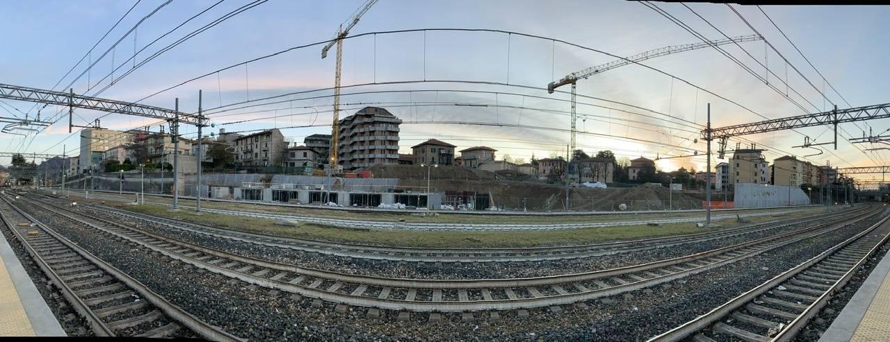 Cantieri parcheggio del ponte: ora si vedono le basi