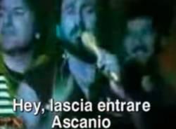 8 di gennaio: lasciamo entrare Ascanio
