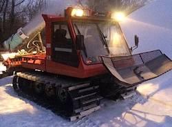 Apre la pista di sci di fondo a Cunardo