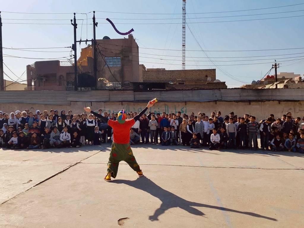 Claun Pimpa in Iraq