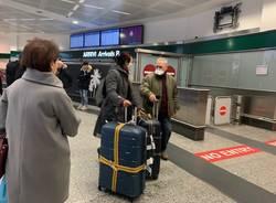 Coronavirus, ultimi passeggeri arrivati a Malpensa