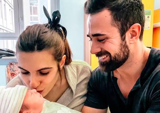 Alisea, piccola principessa dei venti: è nata la figlia di Roberto Valbuzzi