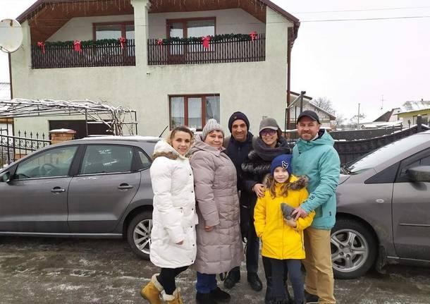 Elisabetta e Giovanni da Samarate all'Ucraina