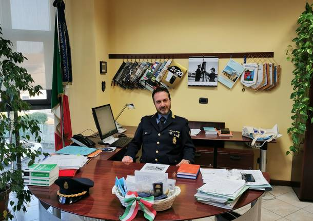 Emanuele Mattei comandante polizia