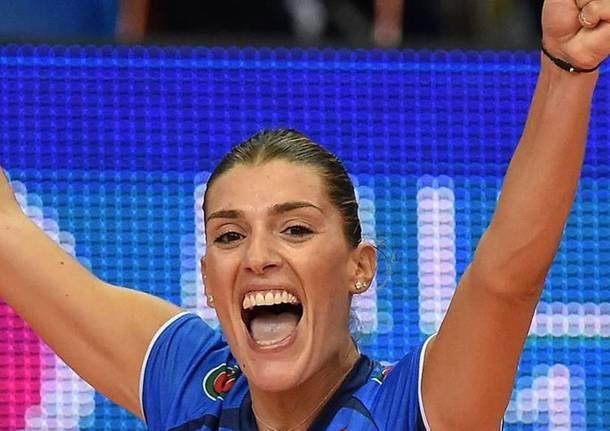Pallavolo, Francesca Piccinini torna a giocare: si riparte da Busto Arsizio