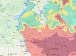 aria inquinata lombardia 4 gennaio