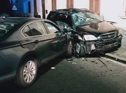 incidente stradale castano primo
