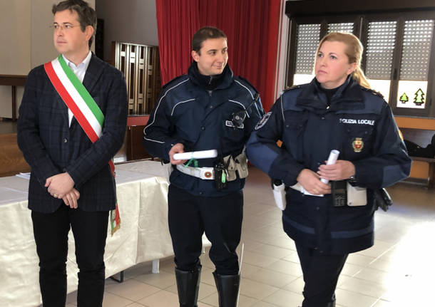 La Polizia Locale di Gallarate festeggia San Sebastiano