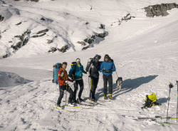 alpinisti davos