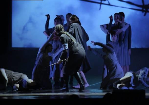 spettacolo danza giorno della memoria
