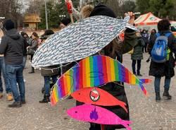 Gruppo di Varese a Bologna per la manifestazione delle sardine