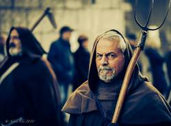 I volti alla rievocazione storica di Sant'Antonio (foto di Andrea Elli)