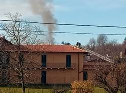 incendio tetto daverio