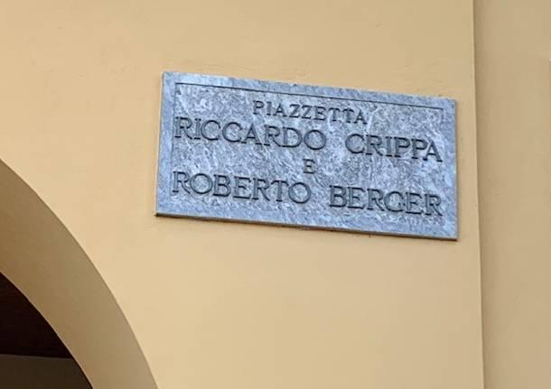 Riccardo Crippa e Roberto Berger