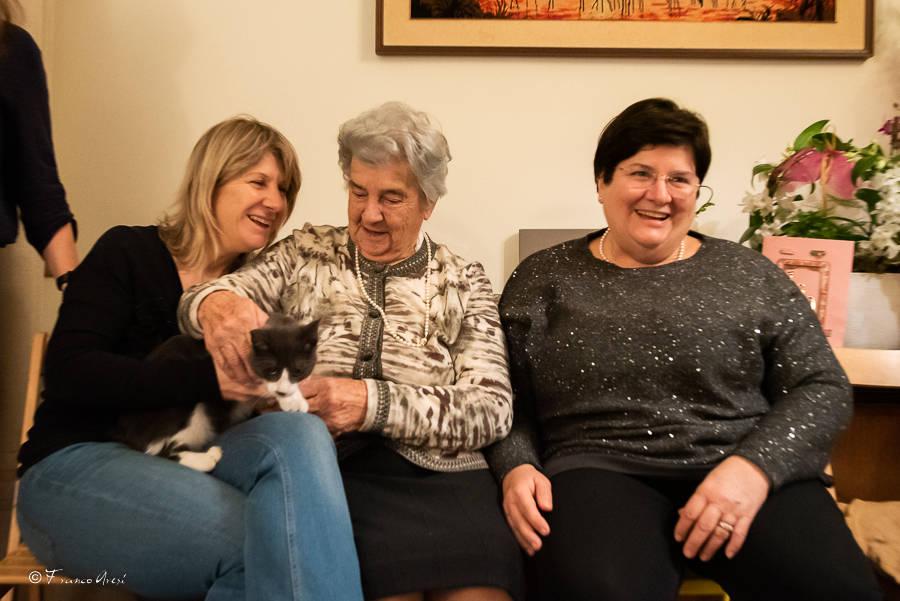 La signora Giannina di Inarzo compie 100 anni