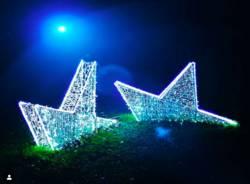 Le lucine di Natale dei Giardini Estensi su Instagram