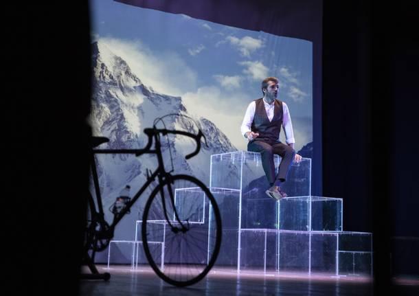 Luca Argentero a teatro, foto di Stefano Pollio