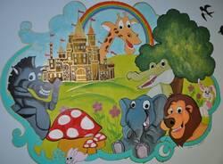 murales pediatria ospedale di rho donati da due mamme  3
