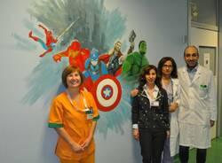 murales pediatria ospedale di rho donati da due mamme  5