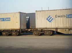 Nello scalo di Sacconago arrivano anche i container