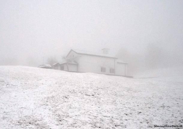 Neve in Forcora gennaio 2020
