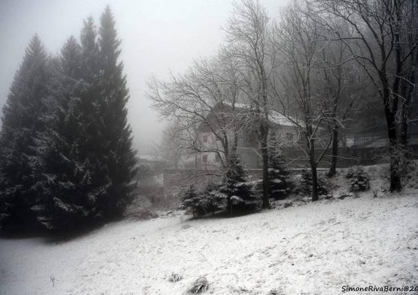 La neve è scesa in Forcora