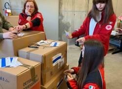 raccolta aiuti umanitari per la Bosnia