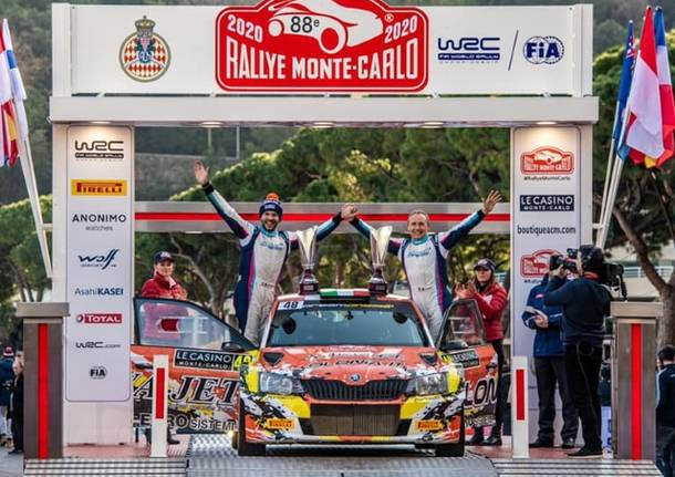 rallye monte carlo rally 2020 mauro miele luca beltrame