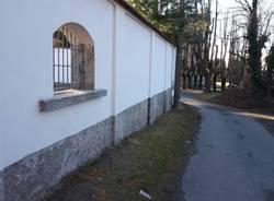 Ristrutturazione del cimitero di Mezzana a Somma Lombardo
