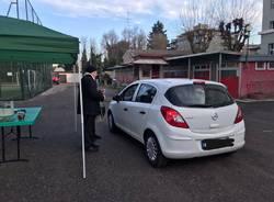 Sant'Antonio, la benedizione delle auto
