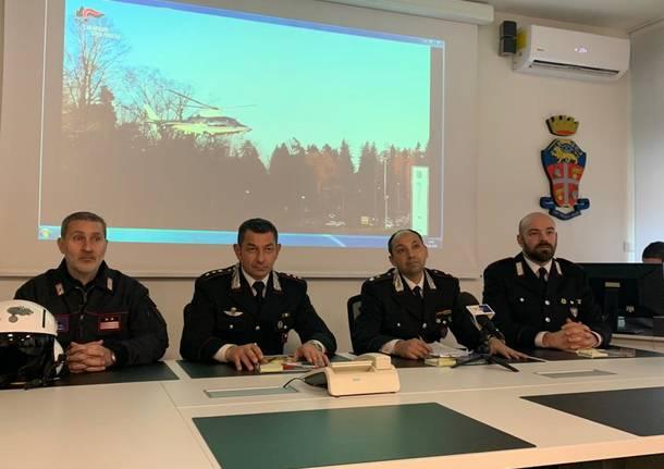 Sequestro discarica abusiva a Cadegliano Viconago