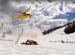 soccorso pista da sci
