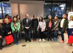 Studenti Erasmus in visita in Municipio