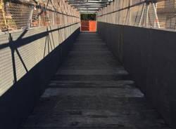 Via Giordani: aperto il passaggio pedonale