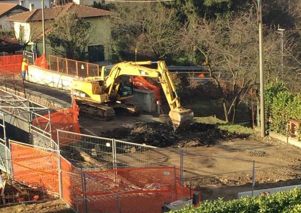 Cantiere di via Giordani: iniziati i lavori di demolizione