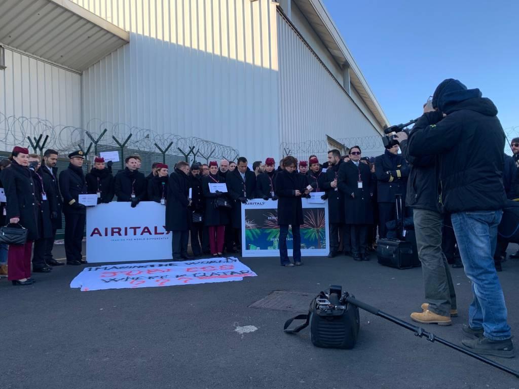 Air Italy presidio